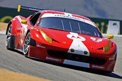 #63 Scuderia Corsa Ferrari 458: Alessandro Balzan, Olivier Beretta