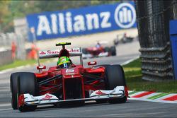 Felipe Massa, Ferrari voor team mate Fernando Alonso, Ferrari