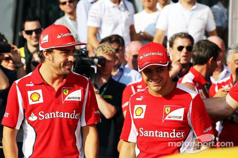 Fernando Alonso, Ferrari met Felipe Massa, Ferrari