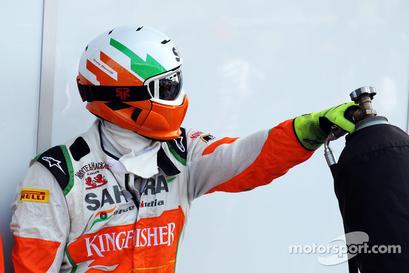 Sahara Force India F1 Team mecanicien