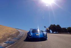 Pace lap: #90 Spirit of Daytona Chevrolet Corvette DP: Antonio Garcia, Richard Westbrook