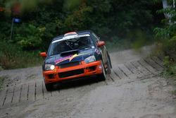 Marc Bourassa and Daniel Paquette, Subaru Impreza Sti