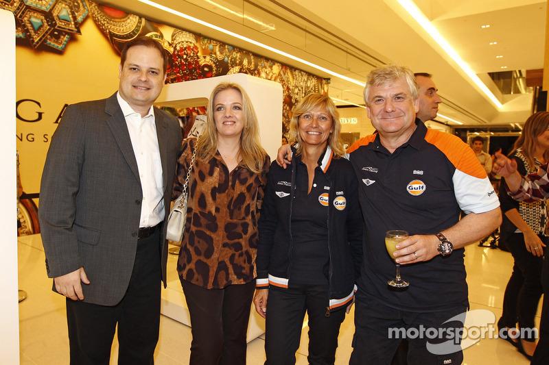 Jacques Nicolet met VIPs