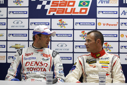 Post-qualfying press conference: Alexander Wurz and Stéphane Sarrazin
