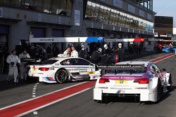 Martin Tomczyk, BMW Team RMG BMW M3 DTM and Andy Priaulx, BMW Team RBM BMW M3 DTM