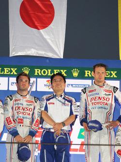 Podium: race winners Nicolas Lapierre, Alexander Wurz