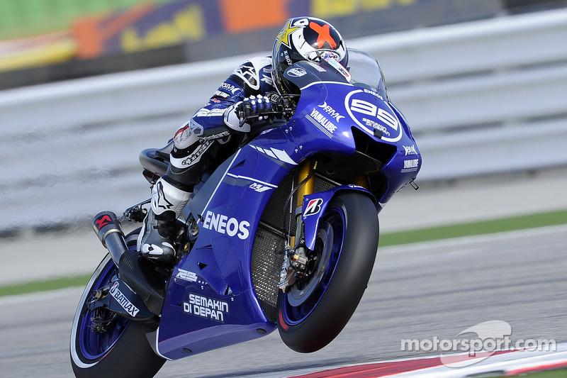 Yamaha Factory Racing - Хорхе Лоренсо - Гран Прі Сан-Маріно, 2011 рік