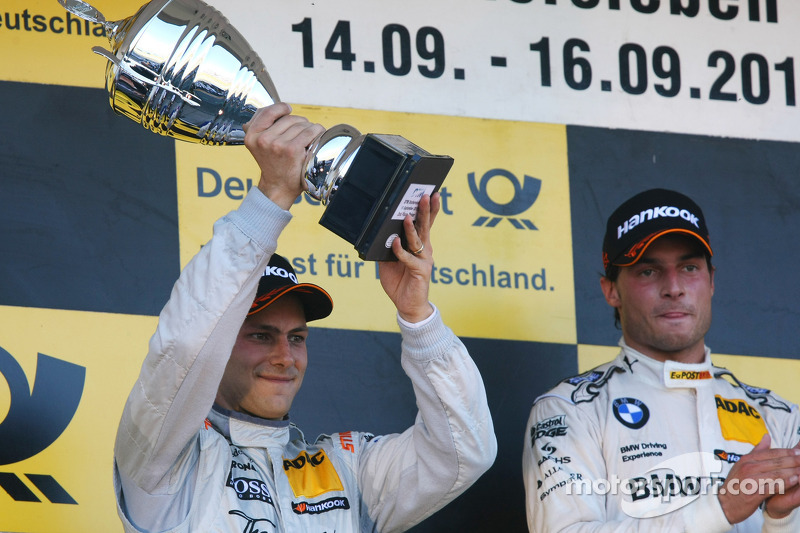 Second, Gary Paffett, Team HWA AMG Mercedes, AMG Mercedes C-Coupe