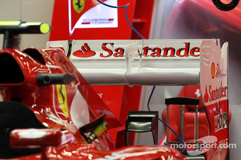 Felipe Massa, Ferrari rear wing