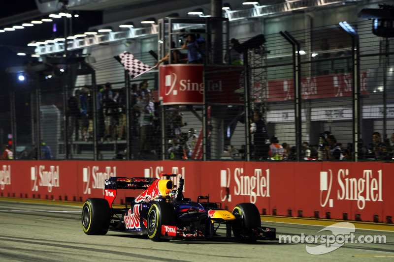 2012: Sebastian Vettel, Red Bull Racing RB8
