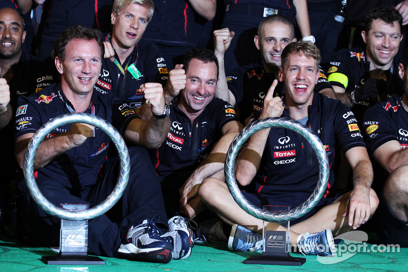2012 - Grand Prix von Singapur: Sebastian Vettel, Red Bull Racing RB8