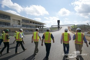 Engineers inspected the Circuit of the Americas