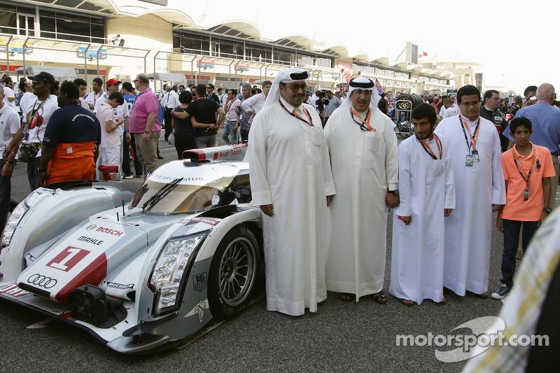 The royal family of Bahrain