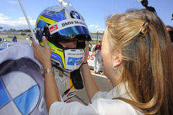 Augusto Farfus Jr., BMW Team RBM, and his wife Liri Farfus