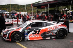 #51 APR Tuned, Motul, Parathyroid.com, PRNewswire, South African Airways APR Motorsport LTD UK Audi R8 Grand-Am: Jim Norman, Dion von Moltke