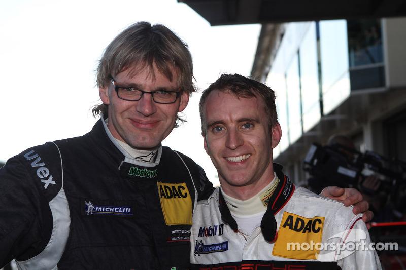 Second place Timo Bernhard and Jochen Krumbach