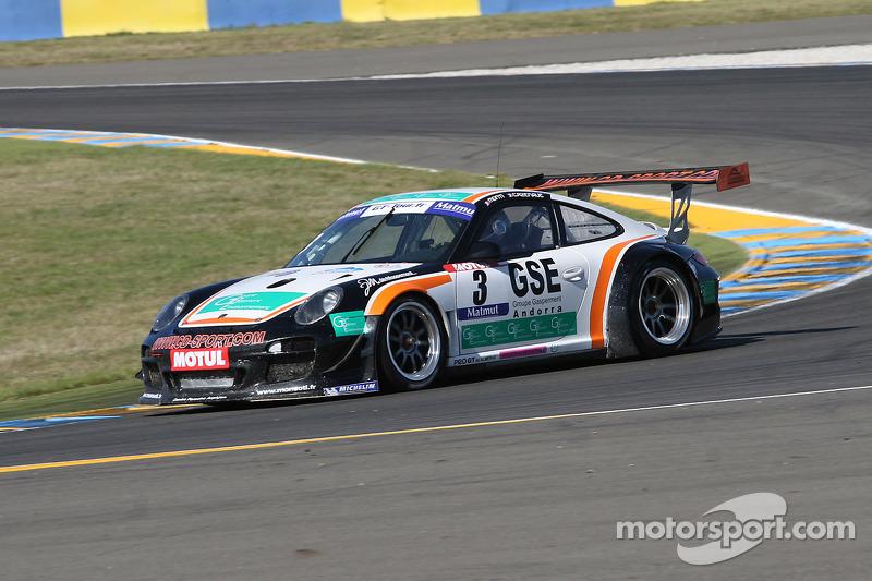#3 Pro GT by Almeras Porsche 911 GT3 R: Romain Monti; Laurent Cazenave