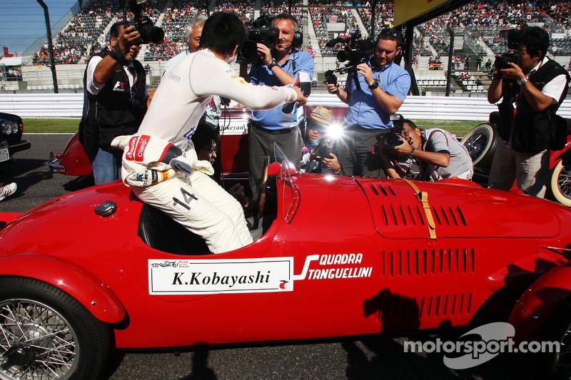 Kamui Kobayashi, Sauber rijdersparade