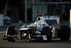 Kamui Kobayashi, Sauber F1 Team takes third place