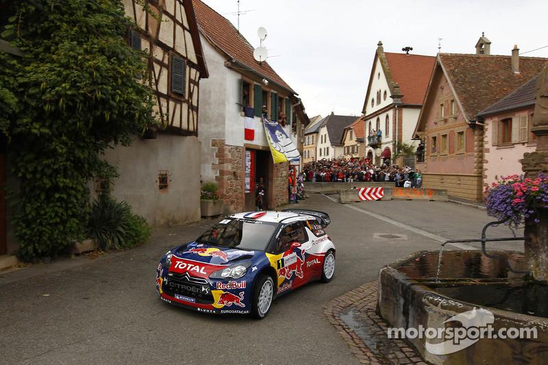 2012, Rallye d'Alsace, Citroën DS3 WRC