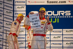 Enzo Potolicchio, Tom Kimber-Smith, Stéphane Sarrazin clinch the LMP2 2012 title