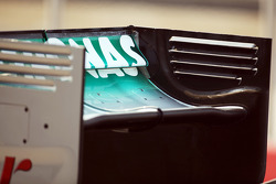 Mercedes AMG F1 achtervleugel