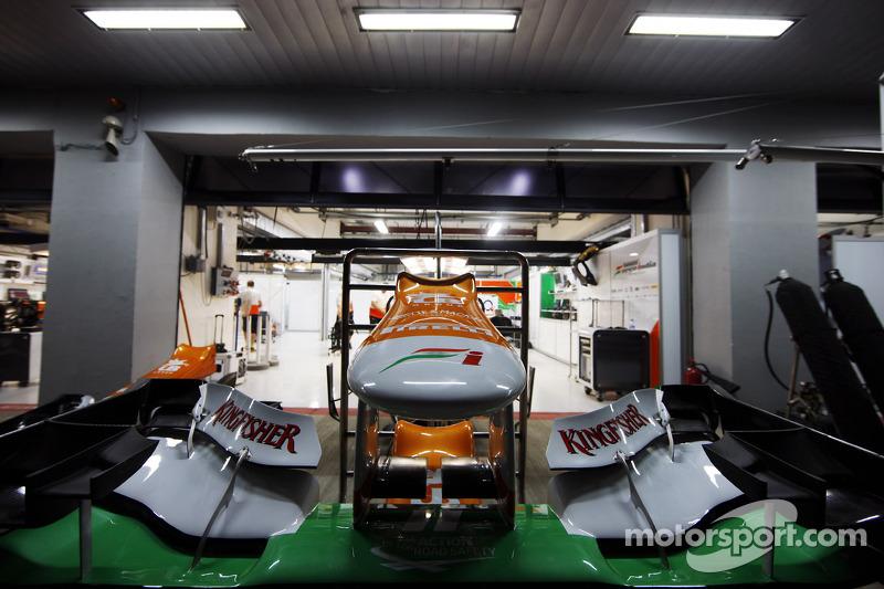 Sahara Force India F1 neus