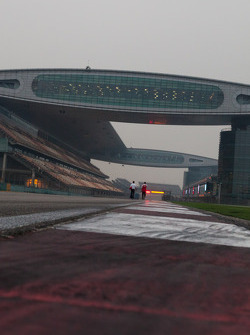 Shanghai Circuit during driver track walk thursday