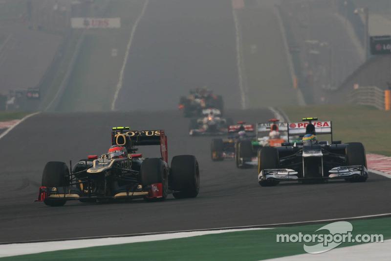 Romain Grosjean, Lotus F1 voor Bruno Senna, Williams
