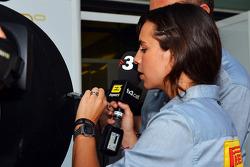 Laia Ferrer, TV3 Televsion Presenter
