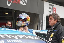 Pepe Oriola, SEAT Leon WTCC, Tuenti Racing Team and his father Pepe Oriola