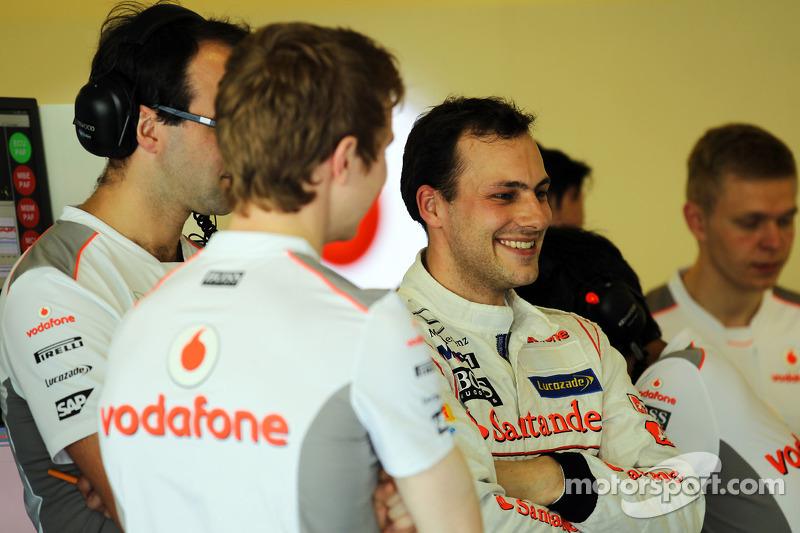 Gary Paffett, McLaren testrijder