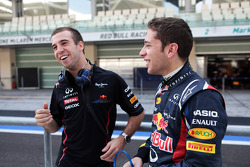 Antonio Felix da Costa, Red Bull Racing Test Driver met Robin Frijns, Red Bull Racing Test Driver