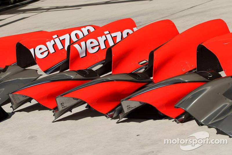 McLaren Mercedes bodywork