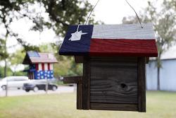 Texas themed bird boxes