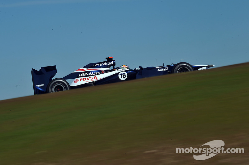 Pastor Maldonado, Williams F1