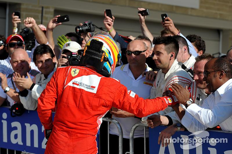 Le troisième Fernando Alonso, Ferrari