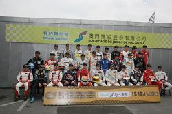 Formula 3 Macau Grand Prix Drivers 2012