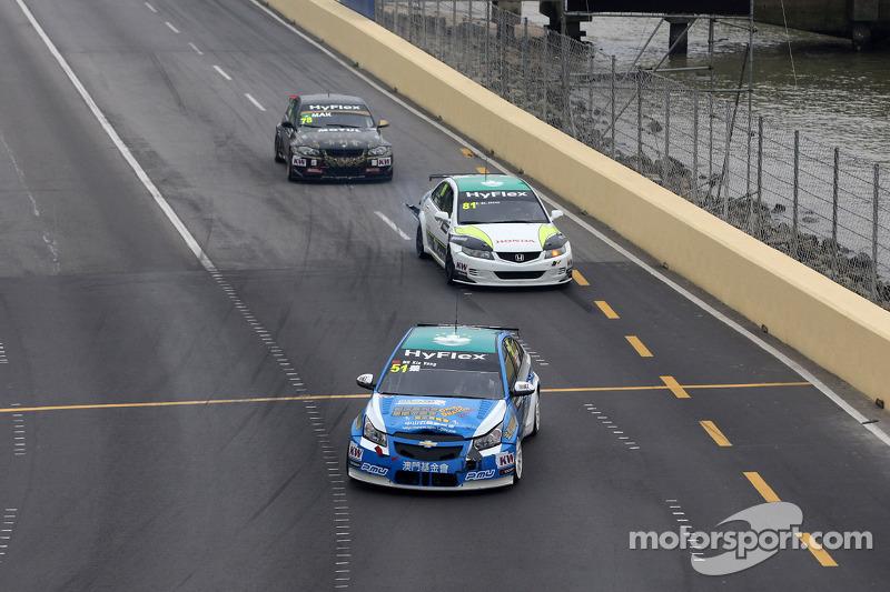 Ng Kin Veng, Chevrolet Cruze, CHINA DRAGON RACING