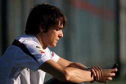 Esteban Gutierrez, derde rijder, Sauber F1 Team