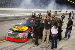 Ty Dillon and his team after the race