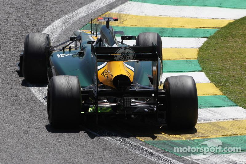 Хейкки Ковалайнен. ГП Бразилии, Первая пятничная тренировка.