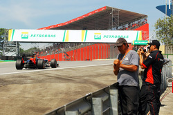 Timo Glock, Marussia F1 Team passes fans
