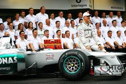 Михаэль Шумахер. ГП Бразилии, Воскресенье, перед гонкой.