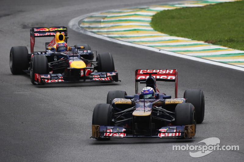 Даниэль Риккардо. ГП Бразилии, Воскресная гонка.