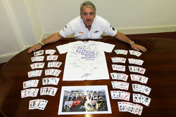 Mark Sutton, Sutton Images ve logoed memorabilia for Great Ormond Street Hospital charity