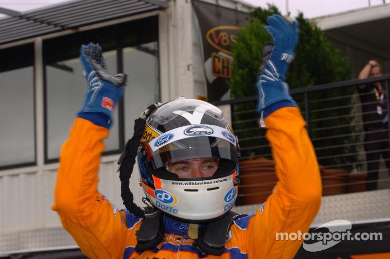 Race winner Will Davison, Trading Post FPR Ford