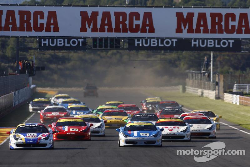 Finali Trofeo Pirelli start