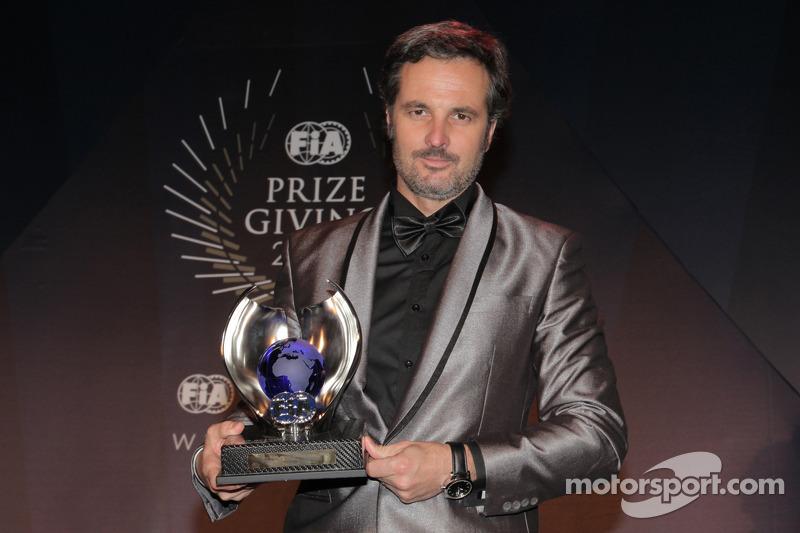 Иван Мюллер. Церемония награждения FIA, Стамбул, Турция, Особое мероприятие.