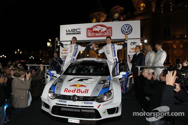 Себастьен Ожье и Жюльен Инграссиа. Презентация Volkswagen Polo R WRC, презентация.